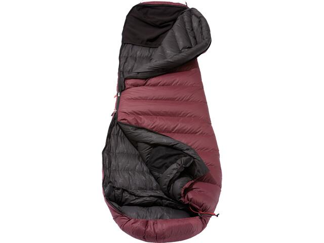Yeti Sunrizer 600 Sleeping Bag S grey/red